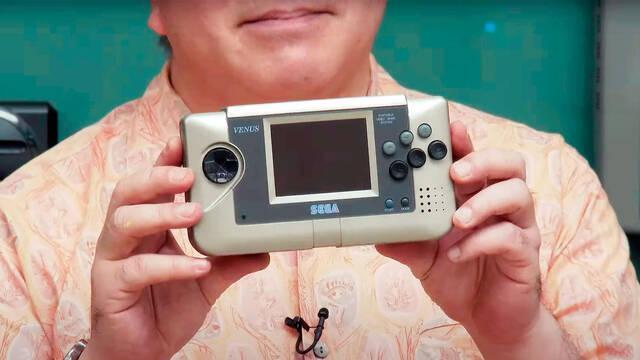 Venus, el prototipo de Sega Nomad