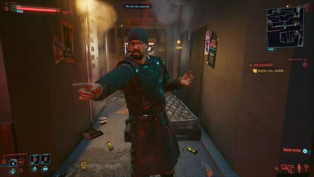Garry el profeta en Cyberpunk 2077 al 100%