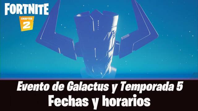 Fortnite Temporada 5: Evento Galactus