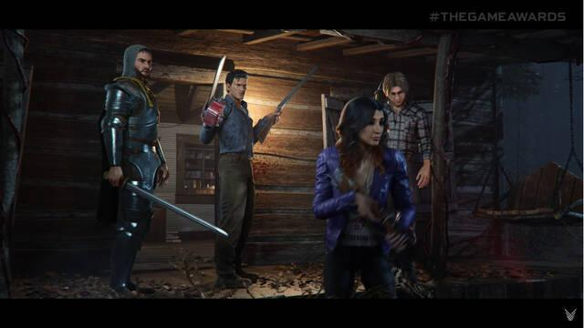Evil Dead The Game tráiler gameplay The game awards