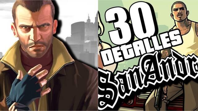 30 detalles alucinantes de GTA 4 y GTA San Andreas