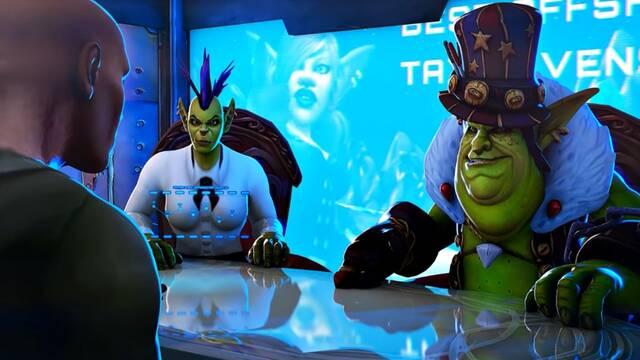 Recrean el tráiler de Cyberpunk 2077 en World of Warcraft.