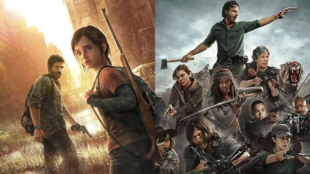 The Last of Us serie The Walking Dead