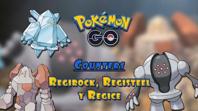 Pokémon GO: Regirock, Registeel y Regice vuelven a incursiones; mejores counters
