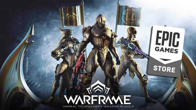 Warframe ya disponible gratis en Epic Games Store; con armas exclusivas