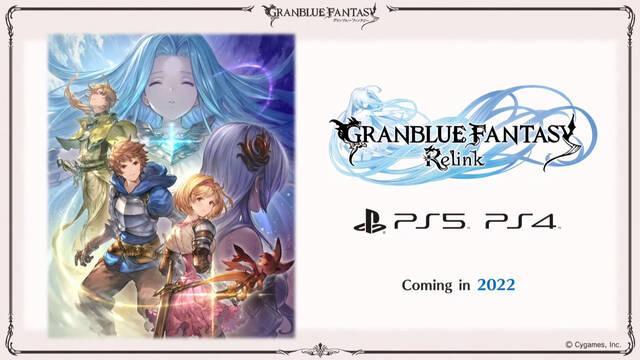 Granblue Fantasy Relink fija 2022 como su año de estreno y llegará a PS4 y PS5