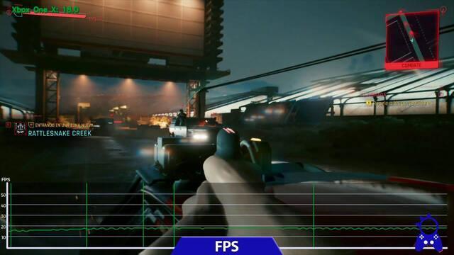 Cyberpunk 2077 en Xbox One funciona a una media de 18 fps