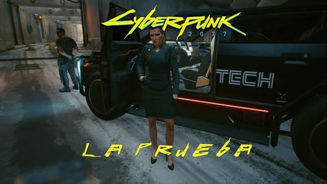 La prueba en Cyberpunk 2077 al 100%