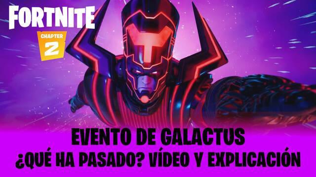 Fortnite: evento Galactus
