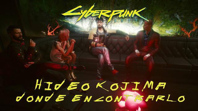 Hideo Kojima en Cyberpunk 2077: ¿dónde encontrarlo?