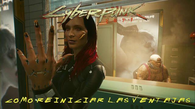 Cómo reiniciar ventajas en Cyberpunk 2077