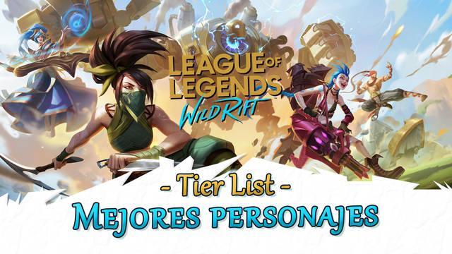 LoL Wild Rift - Tier List: Los MEJORES campeones por rango