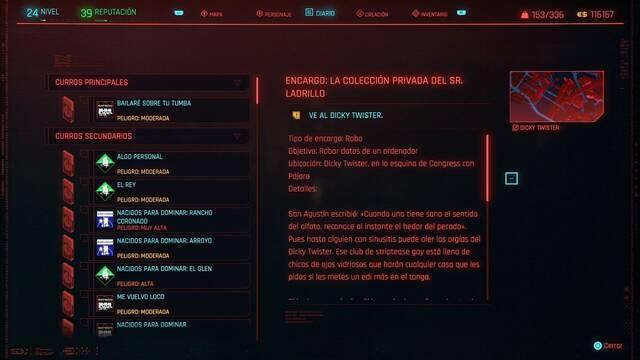 La colección pirvada del Sr. Ladrillo en Cyberpunk 2077 al 100%