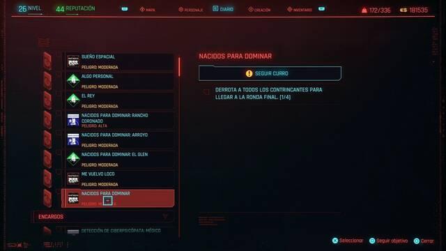 Nacidos para dominar en Cyberpunk 2077 al 100%