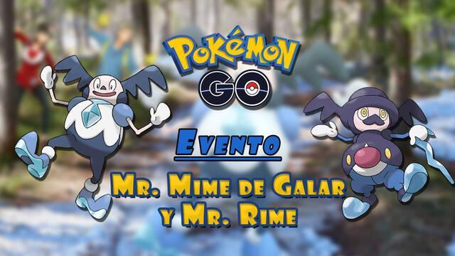 Pokémon GO anuncia evento con Mr. Mime de Galar y Mr. Rime; fecha y detalles