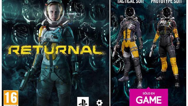 GAME y el lanzamiento de Returnal