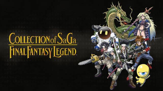 Collection of Saga: Final Fantasy Legend en Switch