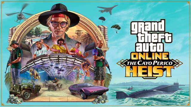 Golpe a Cayo Perico ya disponible en GTA Online.