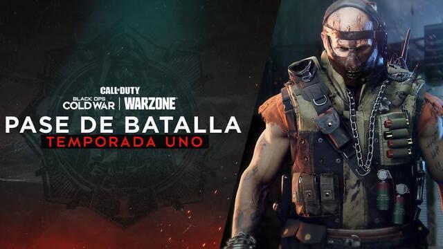 COD Black Ops Cold War y Warzone: Recompensas del pase de batalla Temporada 1