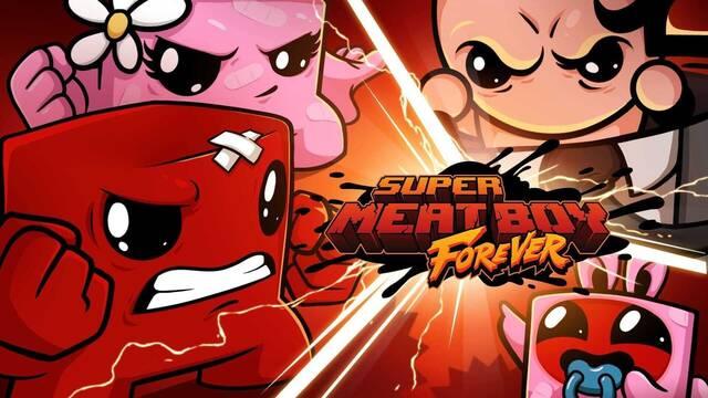 Super Meat Boy Forever llega a Switch el 23 de diciembre.