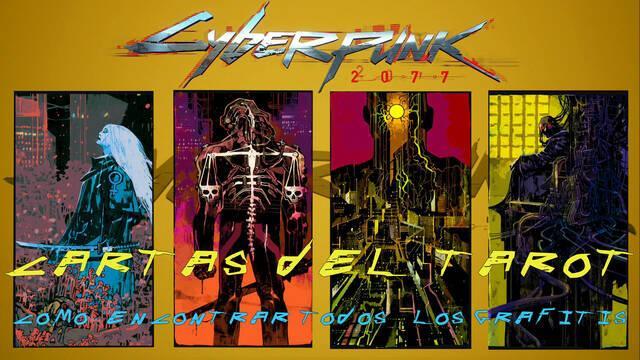 Cyberpunk 2077: TODOS los grafitis del tarot y cómo encontrarlos