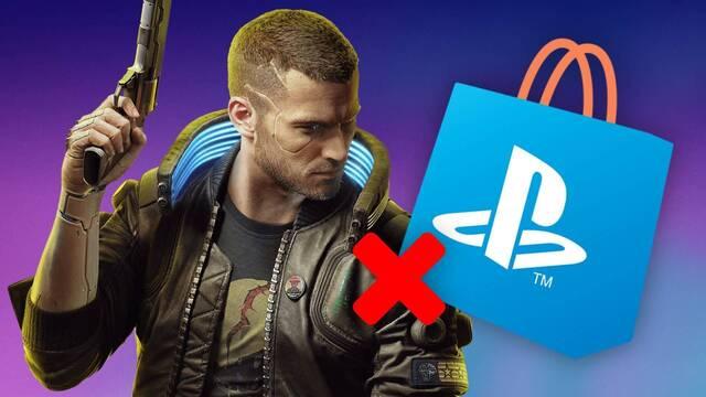 Cyberpunk 2077 retirado de PlayStation Store