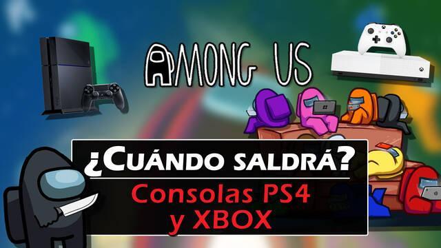 ¿Cuándo saldrá Among Us en consolas PS4, PS5 y Xbox?