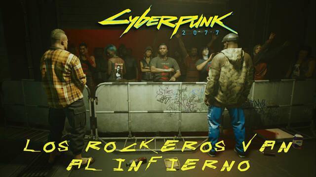 Los rockeros van al infierno en Cyberpunk 2077 al 100%