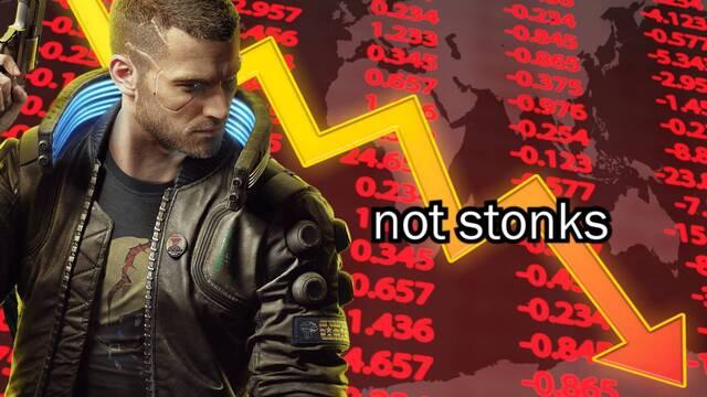 Cyberpunk 2077 provoca una fuerte caída en bolsa de CD Projekt RED.