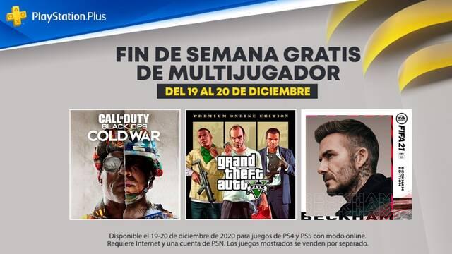 Fin de semana de multijugador gratuito en PS4 y PS5.