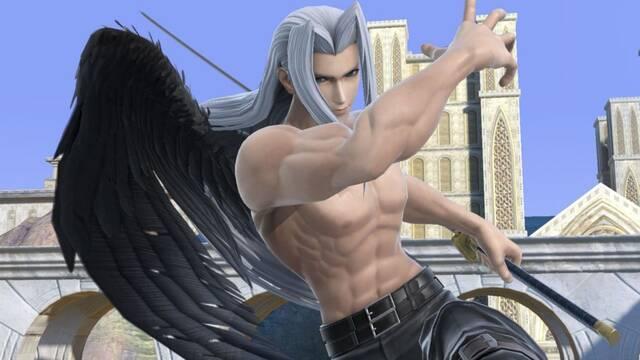 Sefirot llegará a Super Smash Bros. Ultimate el 22 de diciembre.