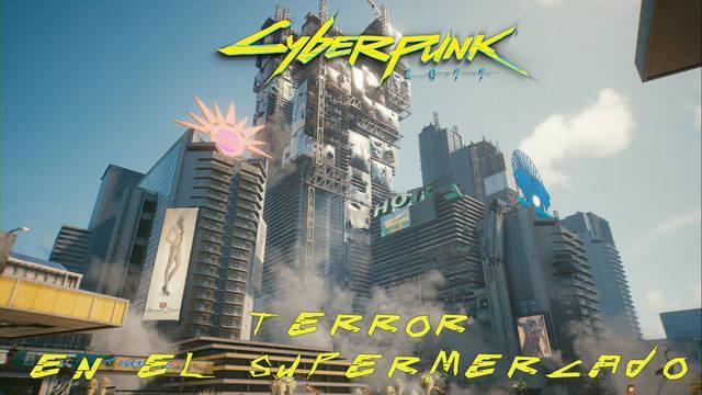 Terror en el supermercado en Cyberpunk 2077 al 100%