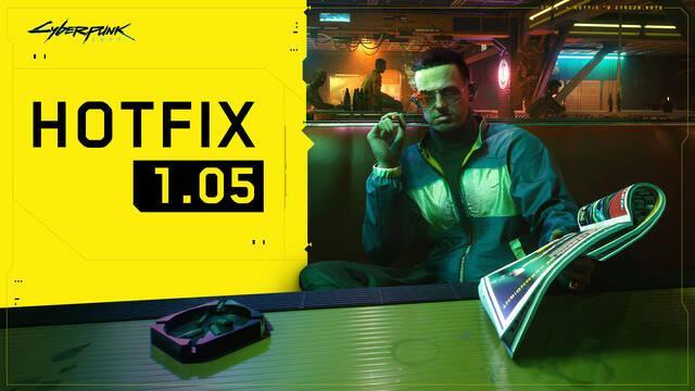 Llega el hotfix 1.05 a Cyberpunk 2077