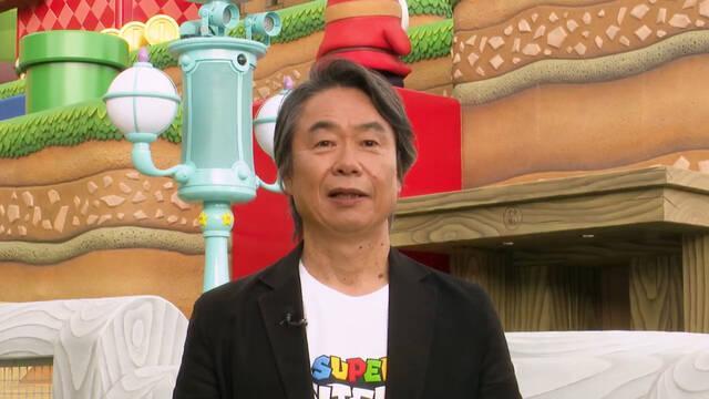 Miyamoto nos muestra el parque temático Super Nintendo World