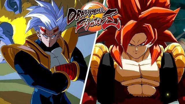 Super Baby 2 y Gogeta SS4 llegan a Dragon Ball FighterZ