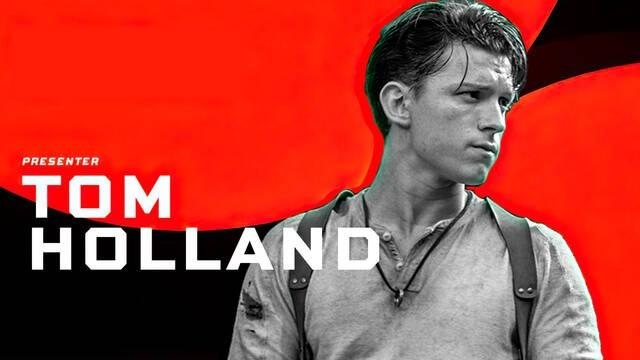 Tom Holland en The Game Awards 2020 película Uncharted