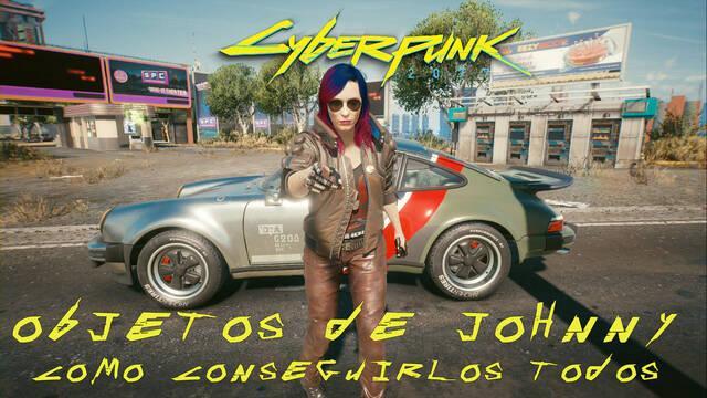 Cyberpunk 2077: TODOS los objetos de Johnny y cómo conseguirlos