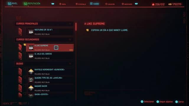 A like supreme en Cyberpunk 2077 al 100%