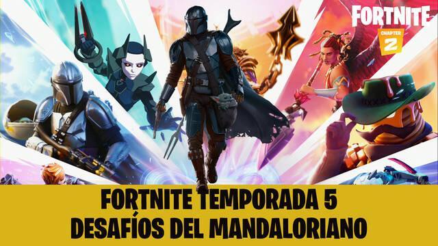 Fortnite: ¿Cómo conseguir a El Mandaloriano y su armadura? - Guía de desafíos