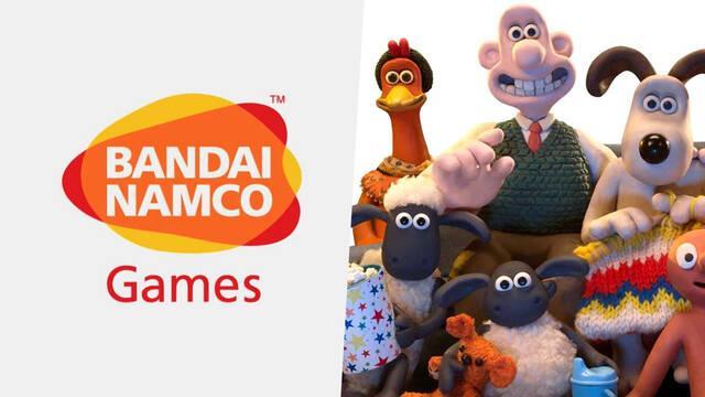 Bandai Namco colaboración transmedia con Aardman Animations