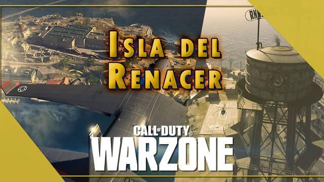 Isla del Renacer en COD Warzone: Cómo jugar, localizaciones y botín
