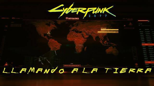 Llamando a la Tierra en Cyberpunk 2077 al 100%