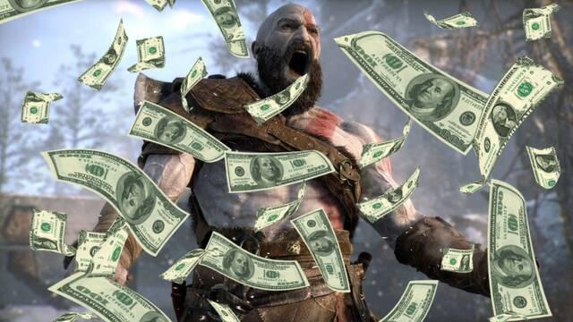 Cifras de ingresos de God of War y Horizon Zero Dawn.