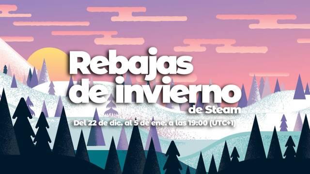 Rebajas de invierno de Steam.