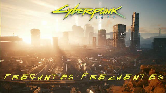 Preguntas frecuentes en Cyberpunk 2077