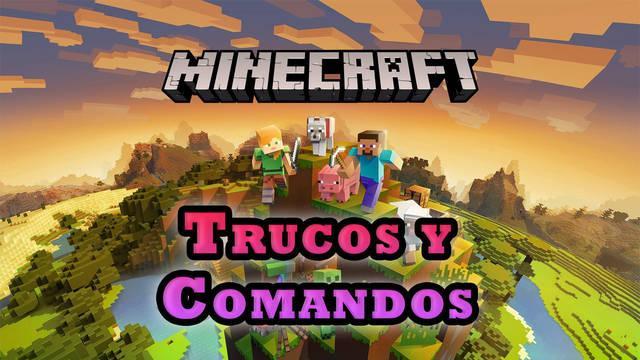 TODOS los trucos y comandos de Minecraft: Oro, materiales, objetos (2021)