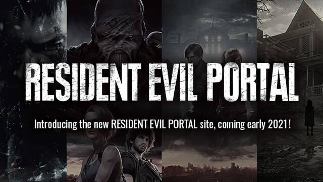 Resident Evil Portal nuevo para noticias