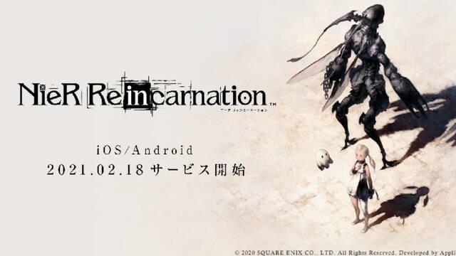 NieR Re[in]carnation se lanzará en Japón el 18 de febrero.
