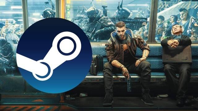 Cyberpunk 2077 vuelve a ser el juego con más ingresos de Steam.