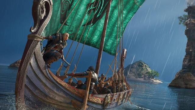El productor de Assassin's Creed Valhalla explica por qué esta entrega no tiene batallas navales.